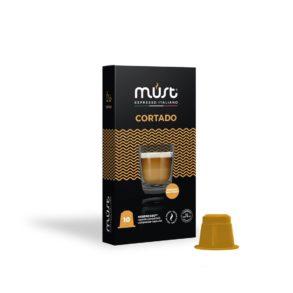 Caffè macchiato Cortado Must - in 10 capsule compatibili Nespresso