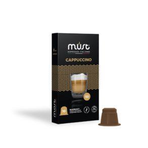 Cappuccino Must - in 10 capsule compatibili Nespresso