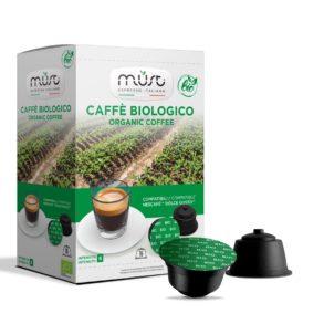Caffè Biologico Must - 16 capsule compatibili con sistema dolce gusto
