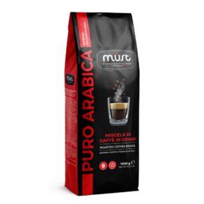 Caffè Puro Arabica in grani Must Espresso Italiano