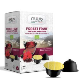 Te in foglie Forest Fruit Must - 16 apsule compatibili dolce gusto