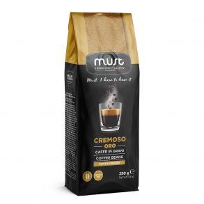 Caffè in grani CREMOSO ORO Must Espresso Italiano