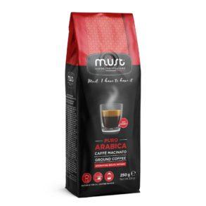 Caffè macinato Puro Arabica Must Espresso Italiano